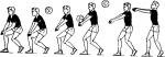 Техника приема мяча снизу в волейболе – 3.1.Техника приема-передачи мяча снизу двумя руками