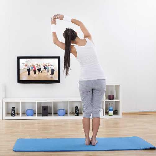 занятие спортом дома для похудения для девушки