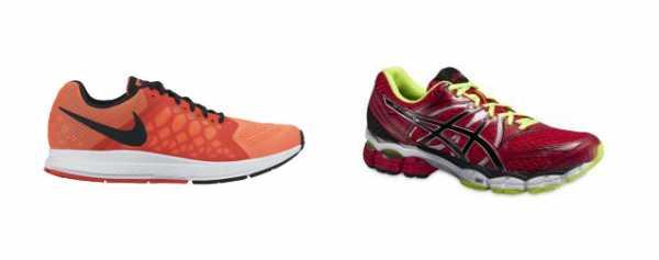 04a6165e Рассмотрим две модели кроссовок обоих брендов из одной категории и примерно  равной стоимости. Сравнивать будем Asics Gel — Pulse 6 и Nike Air zoom  Pegasus ...
