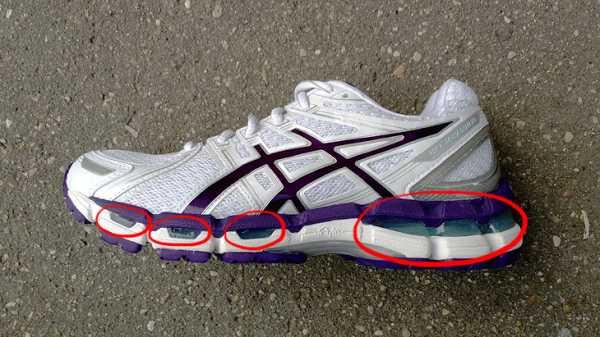 968f2dd6 2) Подошва и верх кроссовка обязательно должны быть гибкими и мягкими в  передней его части.