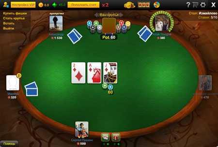 обучение игры в покер онлайн