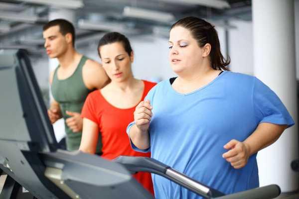 пот при похудении